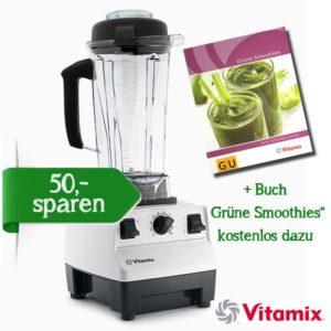 """Vitamix TNC 5200 weiss + Buch """"Grüne Smoothies"""" kostenlos dazu"""