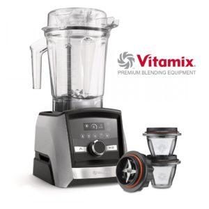 Vitamix A3500i – Edelstahloptik + 2 X 225ml Behälter Mit Klingenbasis