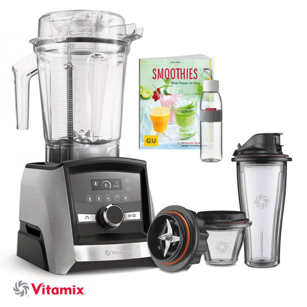 Vitamix ASCENT 3500i + 225 ml & 600 ml Mix&Go Behälter plus Klingenbasis