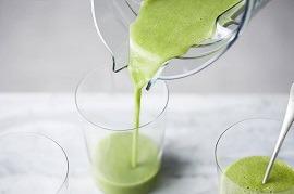 Smoothies im Vitamix zubereiten