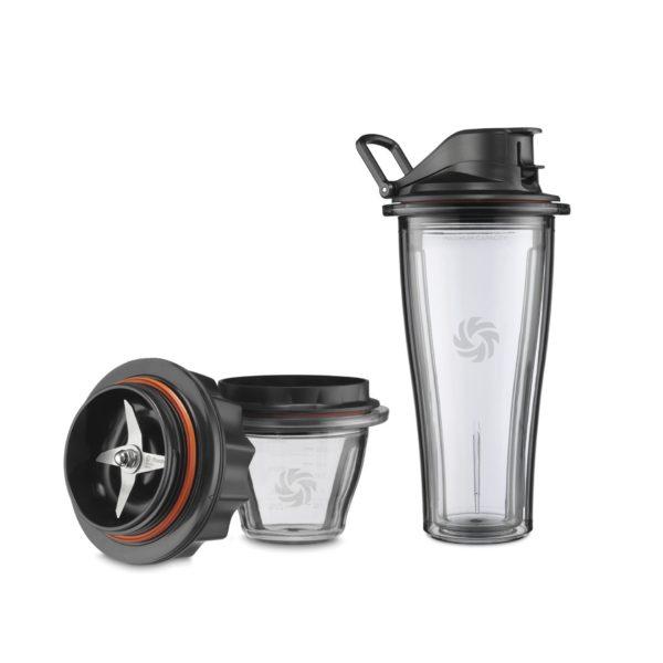 Vitamix ASCENT 1 x 225 ml Tritan-Behälter und 1 x 0.6 l Mix&Go Behälter plus Klingenbasis
